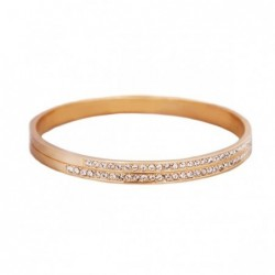 Pulseira Crystal Pavé Golden