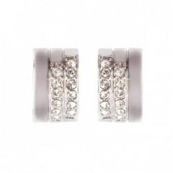 Brincos Crystal Pavé Silver