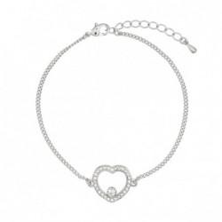 Pulseira Heart Silver