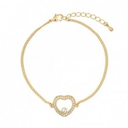 Pulseira Heart Golden