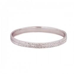 Pulseira Crystal Pavé Silver
