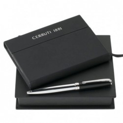 Kit caderno e esferográfica...