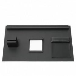 Desk set Stripe Soft Black